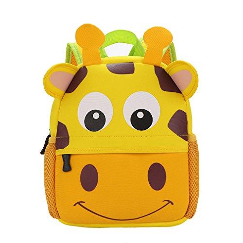Imagen de yeelan impermeable bolso de escuela /  para niños jirafa