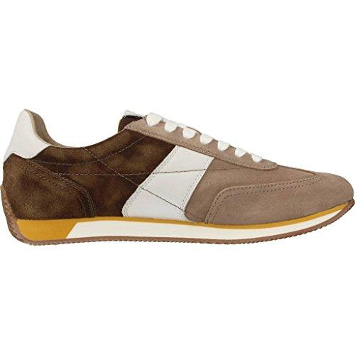 ebony Geox Sportlicher Herrenschuhe Vinto Taupe Schnürhalbschuh Sneaker Herren U722la wBxa8Aqz