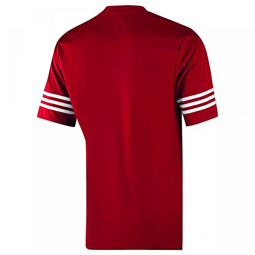 adidas Herren Entrada 14 T-Shirt UNIRED/WHT