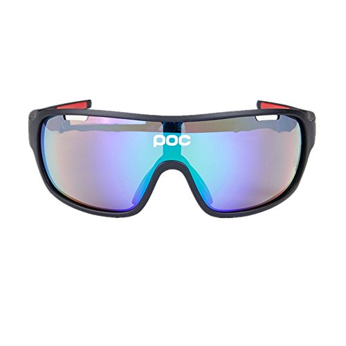 Happy Together Radfahren Brille Fahrrad Farbwechsel Brille Erwachsene Outdoor Brille Geeignet für Outdoor-Radsportliebhaber.
