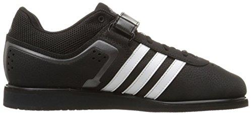 adidas  Power Perfect Ii, Multi-sports - Intérieur Unisexe adulte Black/White/Night Metallic/Grey