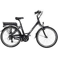 EASYBIKE Easycity M01-D7 Vélo Électrique Mixte Adulte, Noir