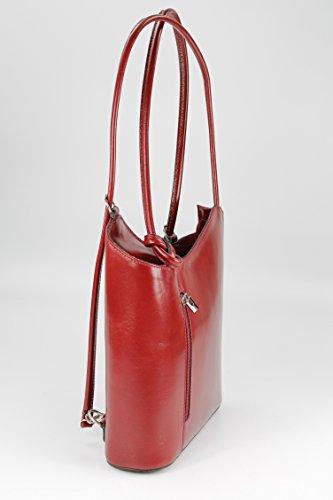 Belli, Borsa a zainetto donna Multicolore multicolore 28x28x8 cm (B x H x T) rosso vivo