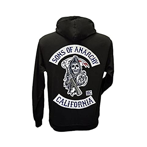 Sons Of Anarchy Embroidered Hoodie