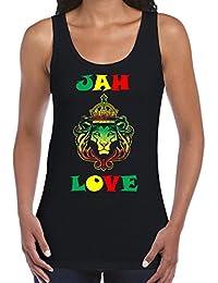 Jah Love Reggae Women's Vest Tank Top