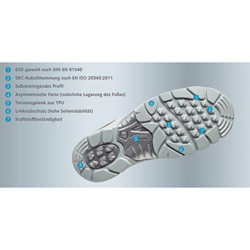 Abeba 32131 - 48 - Taille 48 Esd-anatom Chaussures De Sécurité Basses - Blanc