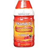 Wellesse - Vitamine D3 Liquide Natural Berry 1000 IU - 473 ml