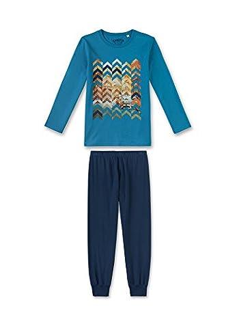 Sanetta Jungen Zweiteiliger Schlafanzug 243867 Türkis (Curacao 50228), 140
