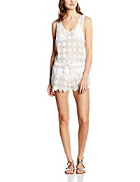 New Look All Over Crochet Playsuit, Vestido para Mujer