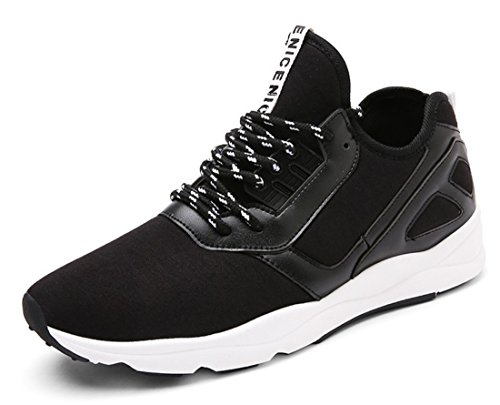 Men's Lace Up Breathable Outdoor Athletic Training Shoes Black
