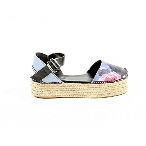 Carven Womens Espadrille Sandal ESPADRILLE 525 BLUET