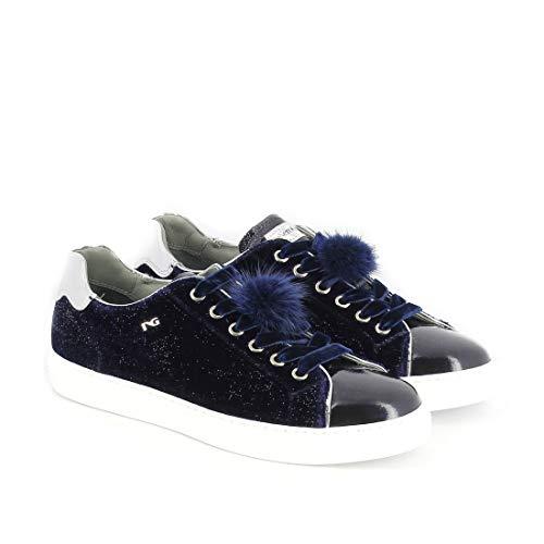 Nero Giardini Sneakers Donna A806642d200 Pelle Blu