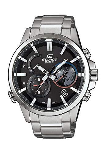 Casio Herren-Uhren Analog, digital Quarz One Size Silber/schwarz Edelstahl 32002232