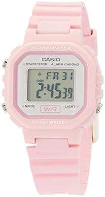 Casio LA20WH-4A1 - Reloj (Reloj de pulsera, Femenino, Rosa, Resina, Rosa, Rectángulo)