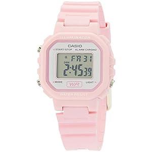 Casio LA20WH-4A1 – Reloj (Reloj de pulsera, Femenino, Rosa, Resina,