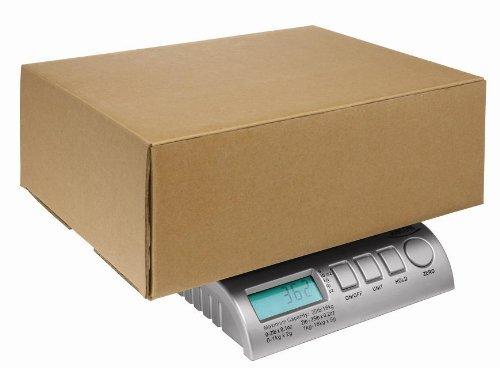 postship Digital 40kg 88LB Silber Buchstabe Post/Porto/Paket-/Versand/Paket/Waagen Skala–0–5kg/5g 5–40kg/10g–Welten Die Meisten Advanced Maßstab