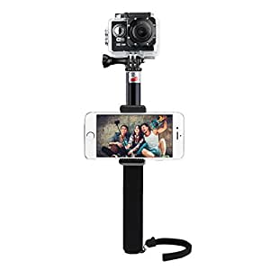 selfie stick omorc extendable self portrait selfie camera photo. Black Bedroom Furniture Sets. Home Design Ideas