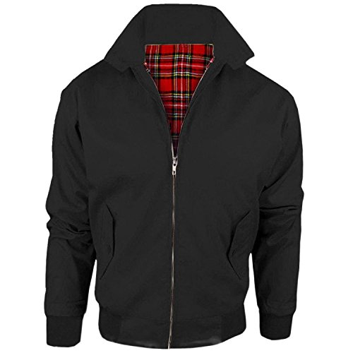 Harrington Scooter Jacket, Black, 2XL