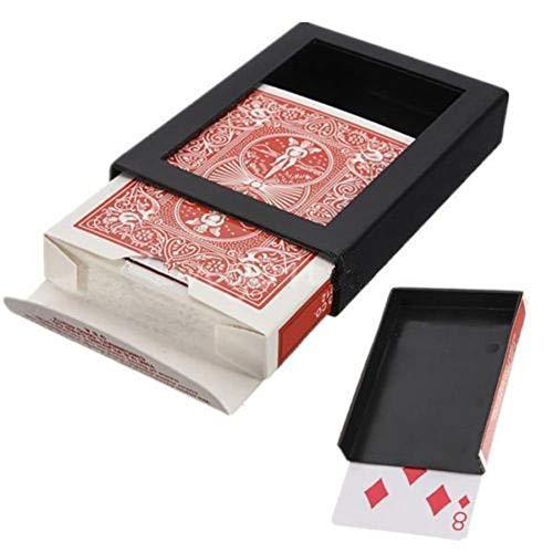 Deck Bath Set (shyyymaoyi Creative Magic Card Tricks Deck Verschwinden verschwindende Poker Karte Schließen Trick Box Werkzeug Multi)