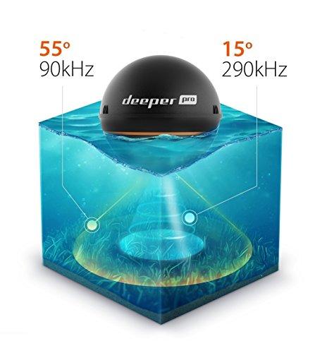 Deeper 4779032950244 Smart Sonar Pro Fischfinder - 10