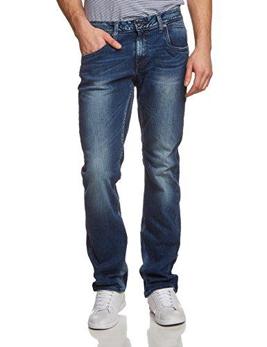 Garcia Herren Straight Leg Jeanshose Russo Blau (med used 1456)
