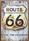 Route 66 Evolution Vintage blechschild