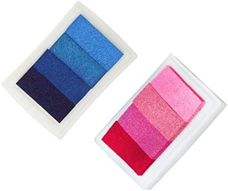 D DOLITY 2pcs 2pcs 2pcs Tampon de Anamorphiques pour Sceaux Bricolage 4 Couleurs Non-Toxique B07FY7K7KJ 8e1670