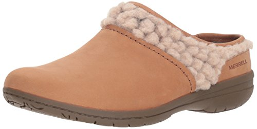 0ce898fde Merrell Women's Encore Kassie Slide Wool Clog, Natural Tan, ...