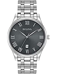 Bulova Men's Analog-Quartz Watch with Stainless-Steel Strap 96B261