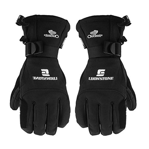 Generic Waterproof Men's Fleece Full Finger Gloves Ski Skating Snow Motorcycle