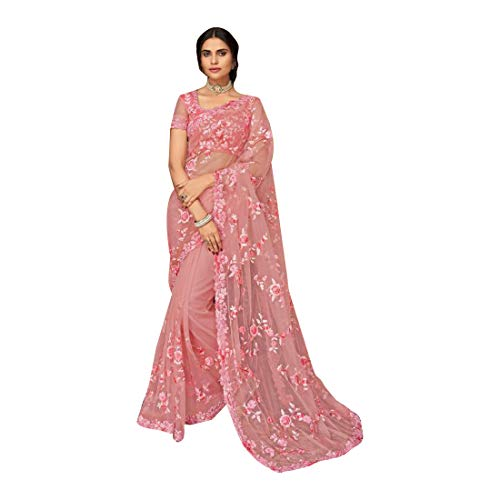 Designer Etnico indiano Fancy Saree per donne Sari con pezzo di camicia Heavy Party Festive wear 7913 3