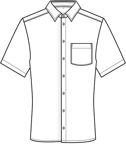 GREIFF -  Camicia classiche  - Classico  - Maniche a 3/4 - Uomo Rot