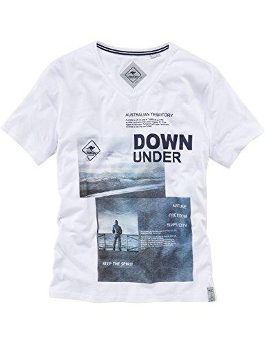 ROADSIGN australia T-Shirt Down Under Weiß