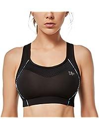 Sport BH Bustier bügellos ohne Bügel Fitness Yoga Workout Wellness Damen Dessous