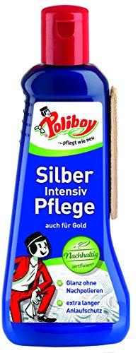 Poliboy Silber Intensiv Pflege mit Quellschwamm, 200 ml