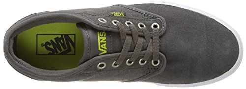 Vans Atwood Quilt, Baskets Basses Homme Gris (Quilt/Pewter/Marshmallow)