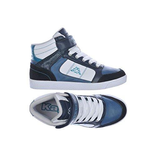 Sneakers - Viliset V Kid - Kind White-Blue Petrol