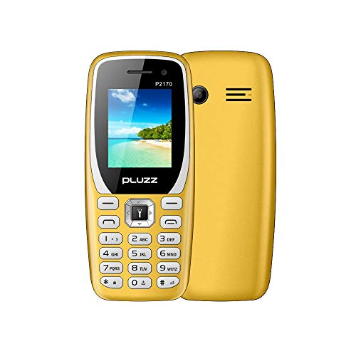 Fulltime E-Gadget 1.77-Zoll Funktionale Telefonkamera FM-Dual-SIM-Karte großer Lautsprecher Handy (Gelb)