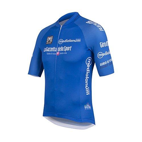 Santini Maillot Ciclismo Giro d'Italia 2016 King of the Mountain Azul S
