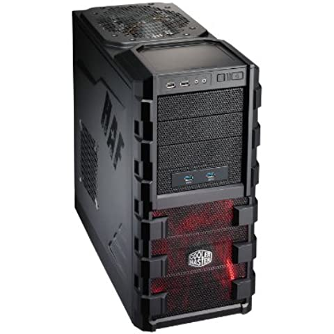 Ankermann-PC GameXPERT HAF912, Intel Core i7-4790K 4x 4.00GHz, MSI GTX 960 GAMING 4G NVIDIA, 8 GB DDR3 RAM, 2000 GB disco duro, DVD-RW Writer, sin sistema operativo, Card Reader, EAN 4C-KCR6-FBXP