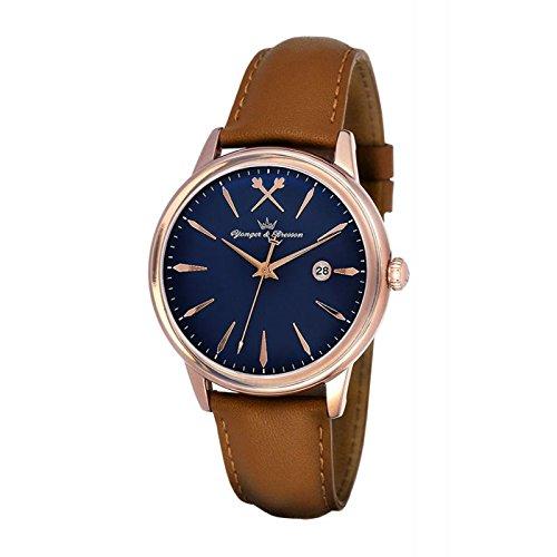 Orologio Yonger & Bresson Uomo Blu–UNHCR 052/GS42–Regalo Ideale