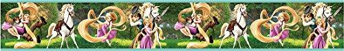 NZEL 17Mtr. Mädchen Kinderzimmer Deko Fototapete Dekoration Sticker (Rapunzel-dekoration)