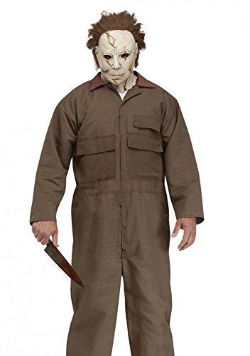 Herrenkostüm Michael Meyers inklusive Maske Gr. L Horror Halloween Kostüm