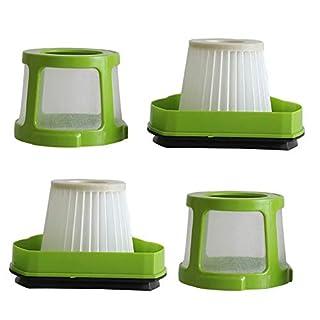 Anboo Pet Hair Radiergummi Filter für Bissell 178217823Vakuum Filter für Bissell 1608653Mesh schnurlose Hand Filter ersetzen Haar Filter Zubehör 2Pack