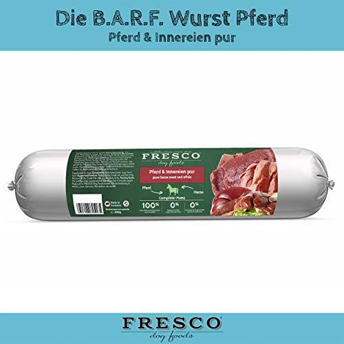 Fresco Dog Barf Wurst Pferd (pur)