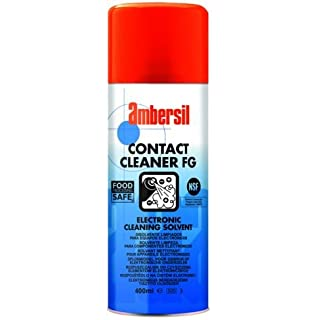 31588-AA AMBERSIL CONTACT CLEANER FG NSF REGISTERED ELECTRICAL SWITCH CLEANER 400ML AEROSOL
