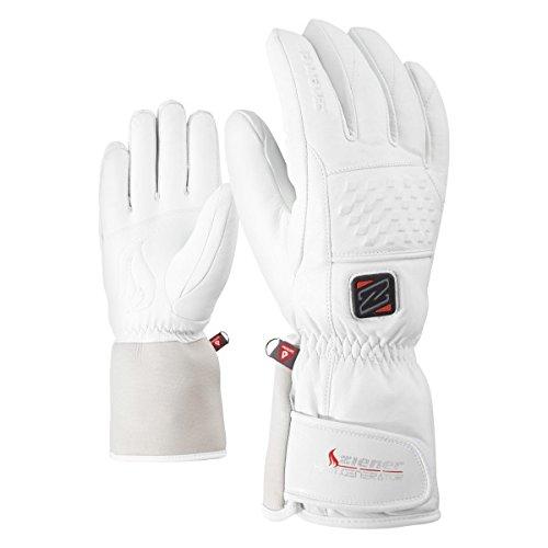 Ziener kea AS PR Hot Lady Handschuhe, Damen, Weiß, 7