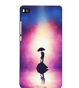 "NIRANG High Quality Printed Desinger Back Case Cover For ""Huawei P8 Lite"""
