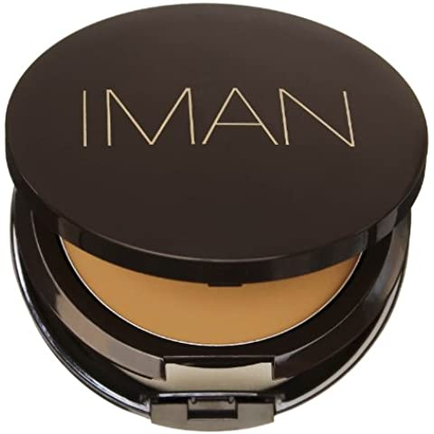 Iman Second to None Cream to Powder Foundation 0 Sand