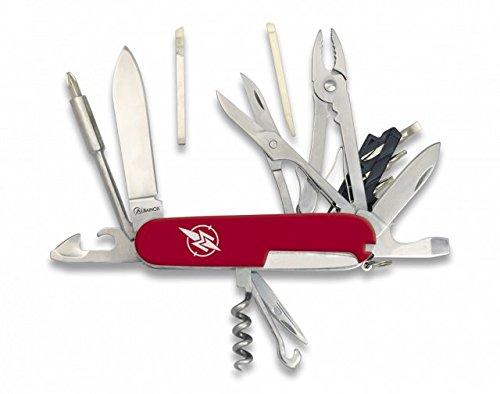 Martinez Albainox 21 Funktionen Taschenmesser, mit Bits, Zange, Schere, Pinzette u.v.m. -